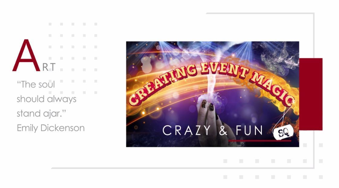 Creating Event Magic