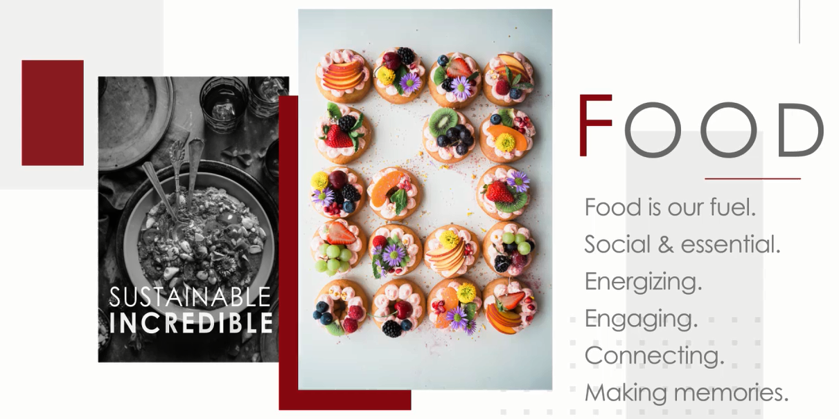 Sustainable Food for Incredible Events