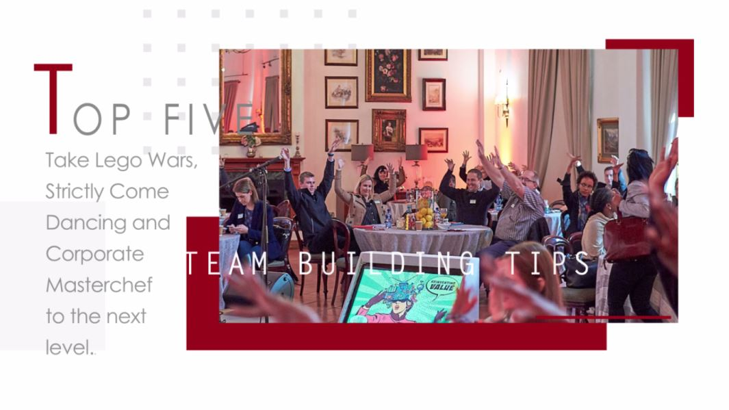 Top Five Team Building Tips