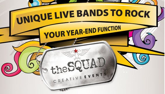 Unique live bands to rock your year end function thesquad creative